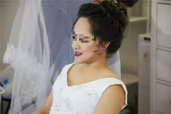刘畅结婚当天照片 刘畅供图