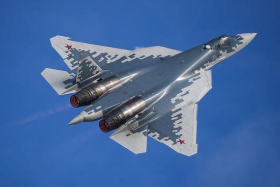 俄羅斯蘇-57戰機(塔斯社)