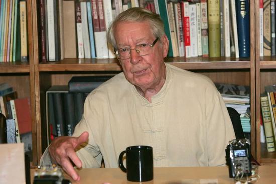 马悦然去世:唯一懂汉语的诺贝尔文学奖评委走了
