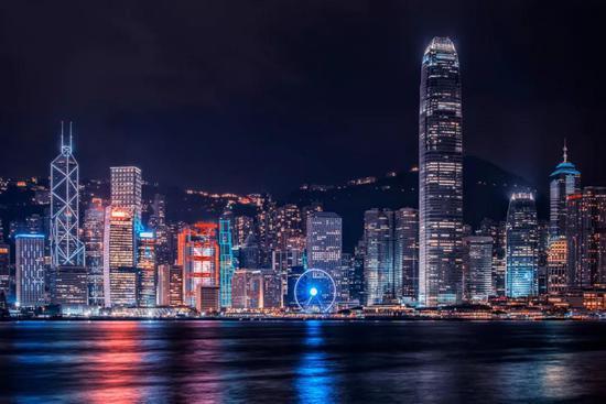 香港夜景(资料图)