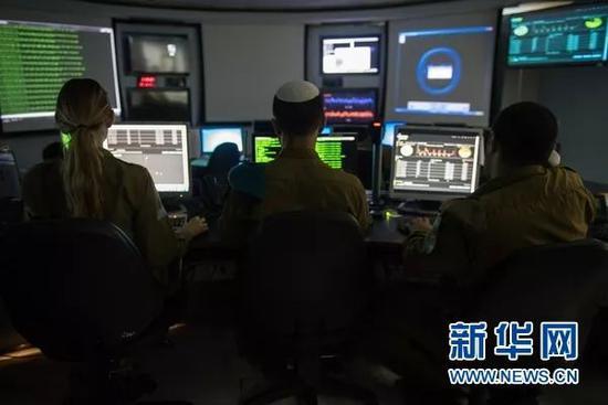 图为以色列国防军的高科技设备。图源:新华网(照片由以色列国防军提供)