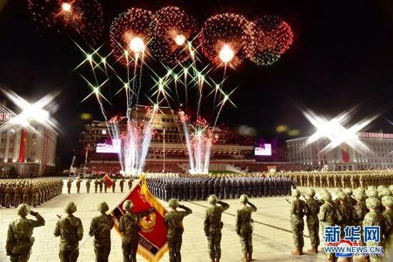10月10日凌晨在平壤举行的阅兵式,证明朝鲜供电能力