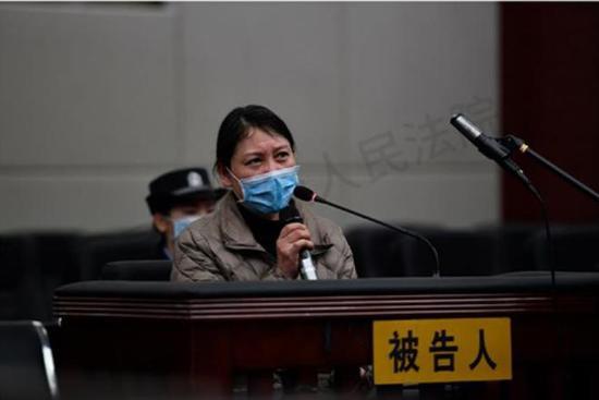 12月21日,劳荣枝案在南昌中级人民法院开庭。南昌市中级人民法院官网