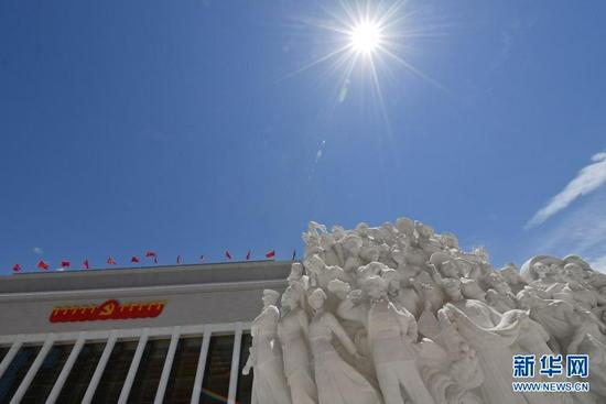 这是中国共产党历史展览馆(6月18日摄)。新华社记者 岳月伟 摄