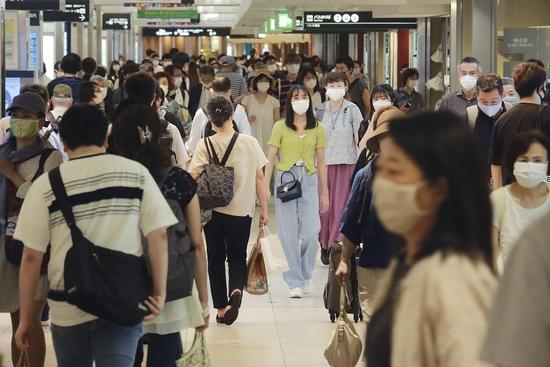 疫情之下的日本街头