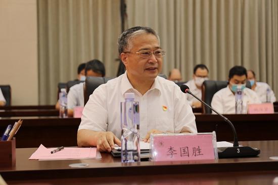 李国胜(资料图 图片来历:黄淮学院官网)