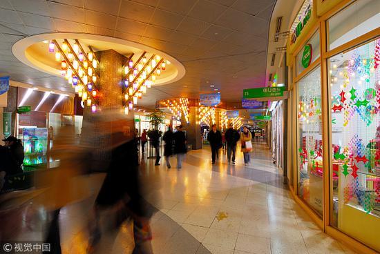 韩国商场(视觉中国)