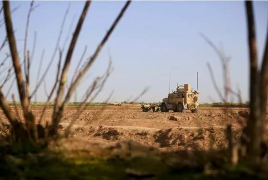 原料图:美军在阿富汗实走义务(《信休周刊》)
