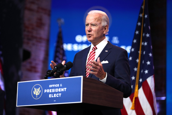 拜登公布白宫幕僚团队中央人员名单。(图源:Getty Images)