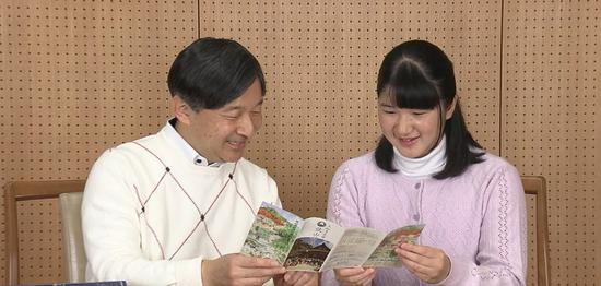 皇太子德仁与爱子(富士电视台)