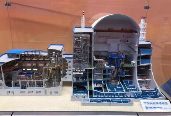 中国实验快堆模型