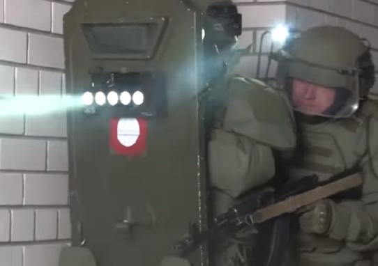 俄罗斯国防部视频截图