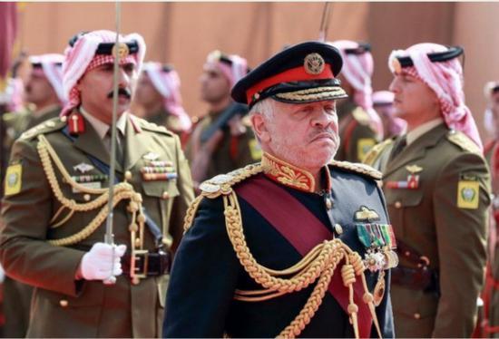 约旦国王阿卜杜拉(图源:阿拉伯新闻网)