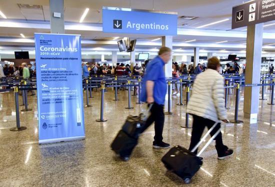 △阿根廷始都布宜诺斯艾利斯国际机场