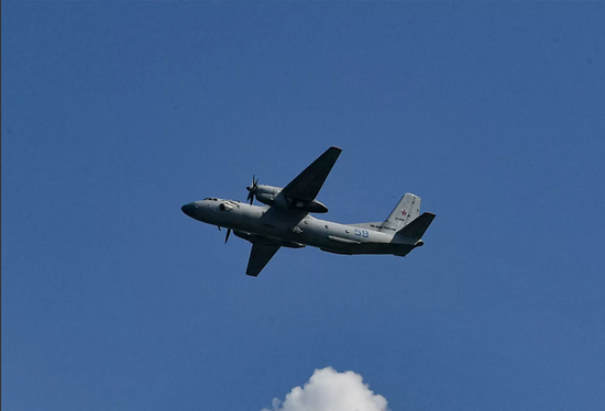 △事故机型安-26(图片来源:俄新社)