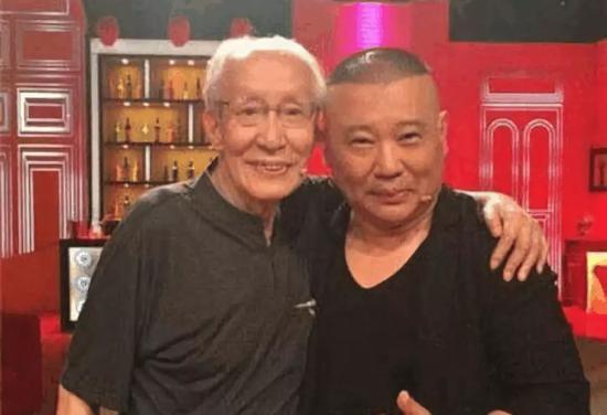 Chang Baohua (left) and Guo Degang