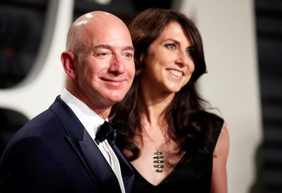 前妻分走价值360亿美元 亚马逊CEO或还是全球首富