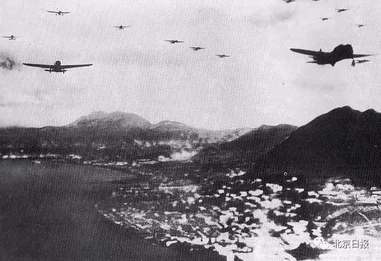 日军轰炸中环