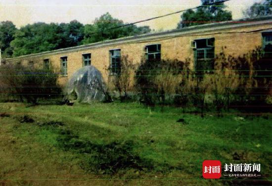当年江西省农科院内,尸体被发现的地方(受访者供图)