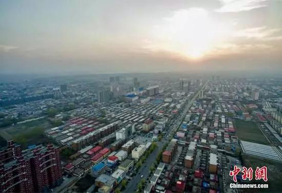 雄安新区规划范围涉及河北省雄县、安新、容城三县及周边部分区域。张帆摄