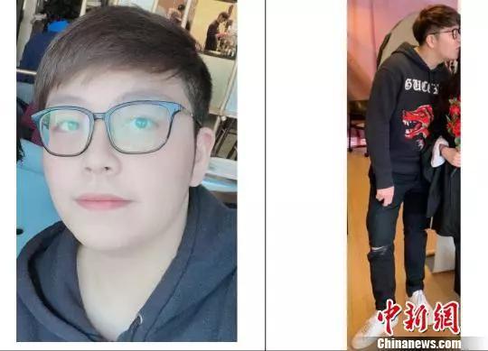 警方公布的22岁受害人Wanzhen LU的照片。