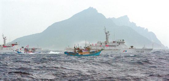 钓鱼岛。(图源:中国时报)