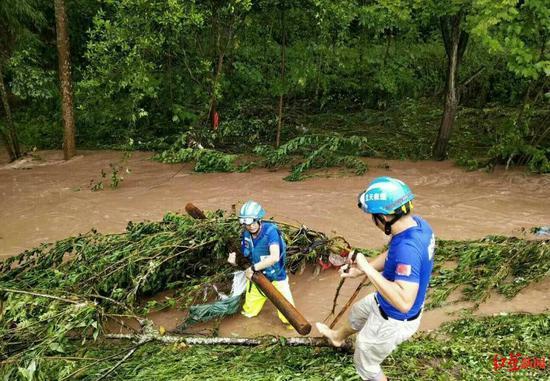 四川岳池3人因洪水失联:分别为一名女性和两名孩子