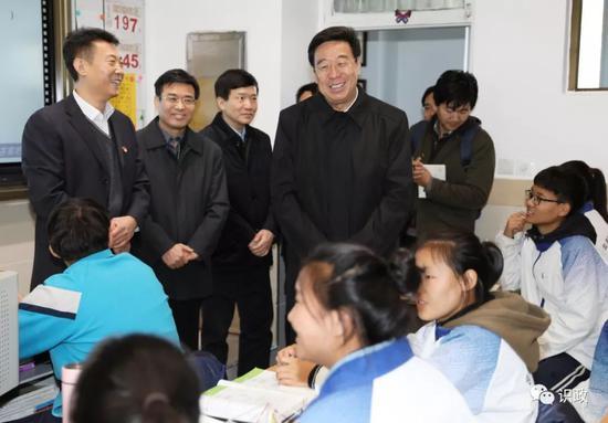 考察北京西藏中学