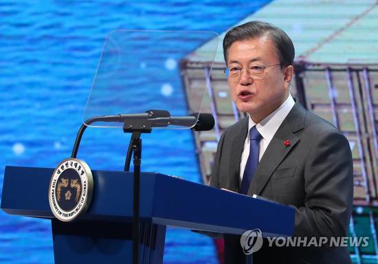 韩国总统文在寅首次表态:考虑加入CPTPP