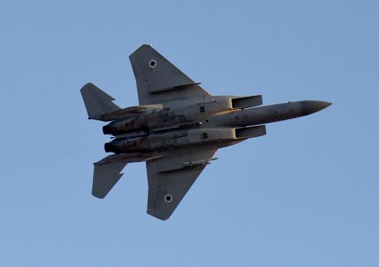 资料图:以色列空军战机