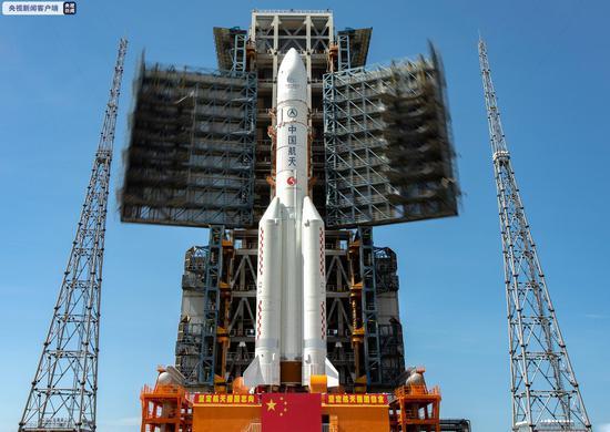 中国首次火星探测任务探测器成功发射 迈出中国行星探测第一步