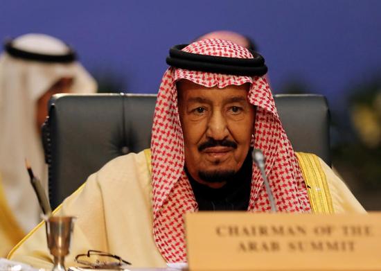 沙特国王萨勒曼 (图源:路透社)