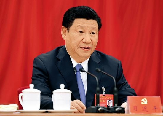 中国共产党第十九届中央委员会第五次全体会议,于2020年10月26日至29日在北京举行。中央委员会总书记习近平作重要讲话。 新华社记者 鞠鹏/摄