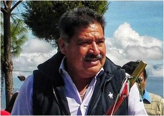阿帕里西奥遇害前不久,才刚宣誓就任市长。(社交平台)
