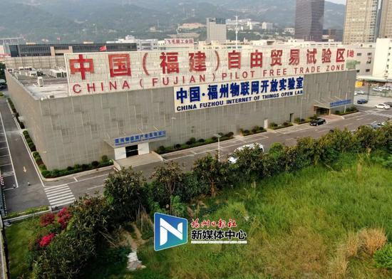 位于中国(福建)自由贸易试验区的中国·福州物联网开放实验室。张人峰/摄