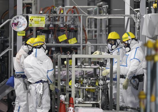福岛核电站一设施现异常 或因早前地震引发气体泄漏
