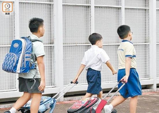 香港幼弟子(来源:东网)