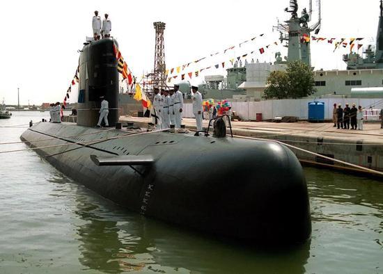 """▲""""哈里特""""型潜艇"""