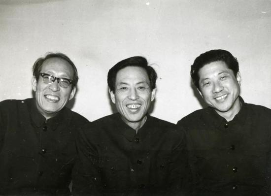 From left to left, Chang Baohua, Chang Baozhen and Chang Guitian.
