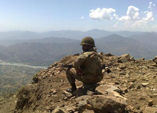 印巴军队在克什米尔地区再次交火。(图源:外媒)