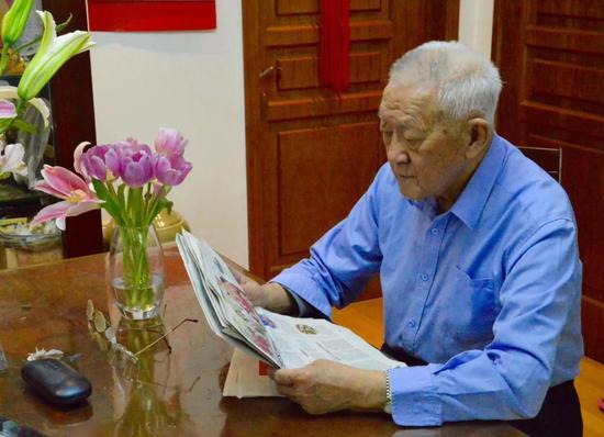 (图为晚年的乌国庆 图源:《新京报》)
