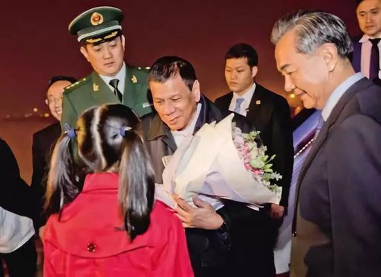 菲律宾总统杜特尔特访华