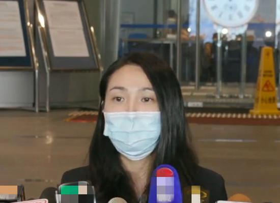 香港警方毒品调查科财富调查组高级督察周颖嘉。