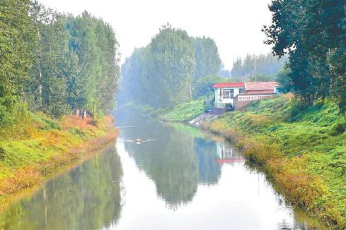 北京城市副中心北运河周边多条枯河清水复流