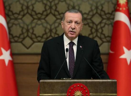 土耳其总统埃尔多安(图源:路透社)