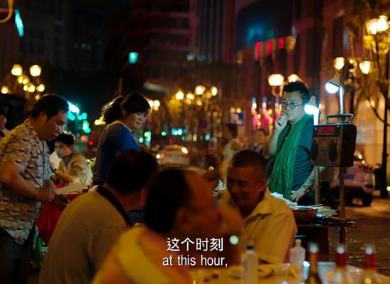 沱沱在《从你的全世界路过》中客串角色。网络截图