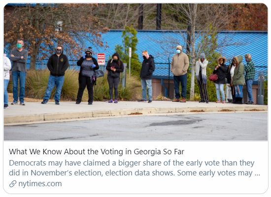截至现在,吾们对佐治亚州的决选清新什么。/《纽约时报》报道截图
