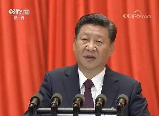 习近平在中国共产党第十九次全国代表大会上作报告