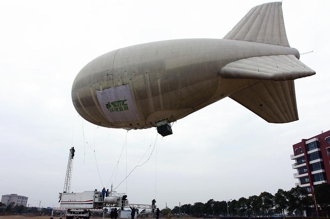 """第一代""""超级气球""""在2013年12月那一次雾霾""""围城""""时起飞"""