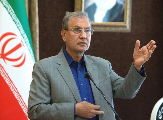 原料照片:伊朗当局说话人阿里·拉比埃。新华社发(艾哈迈德·哈拉比萨斯摄)